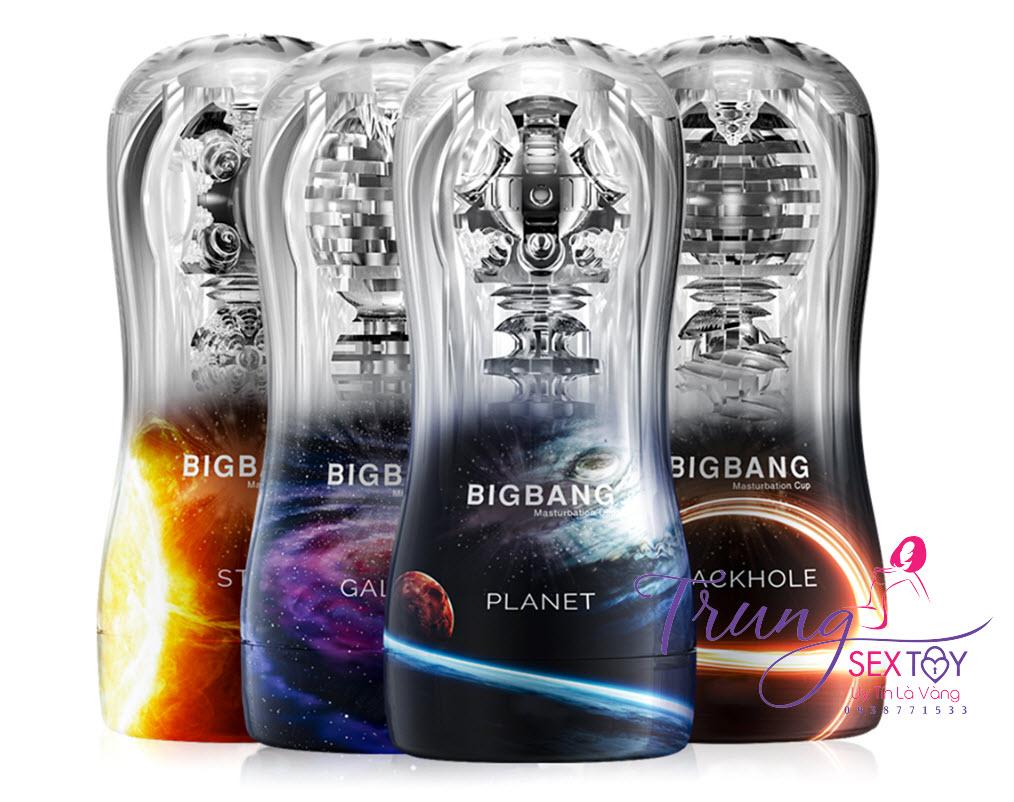 Cốc tự sướng cho nam BigBang hàng chính hãng chất liệu TPE siêu dính