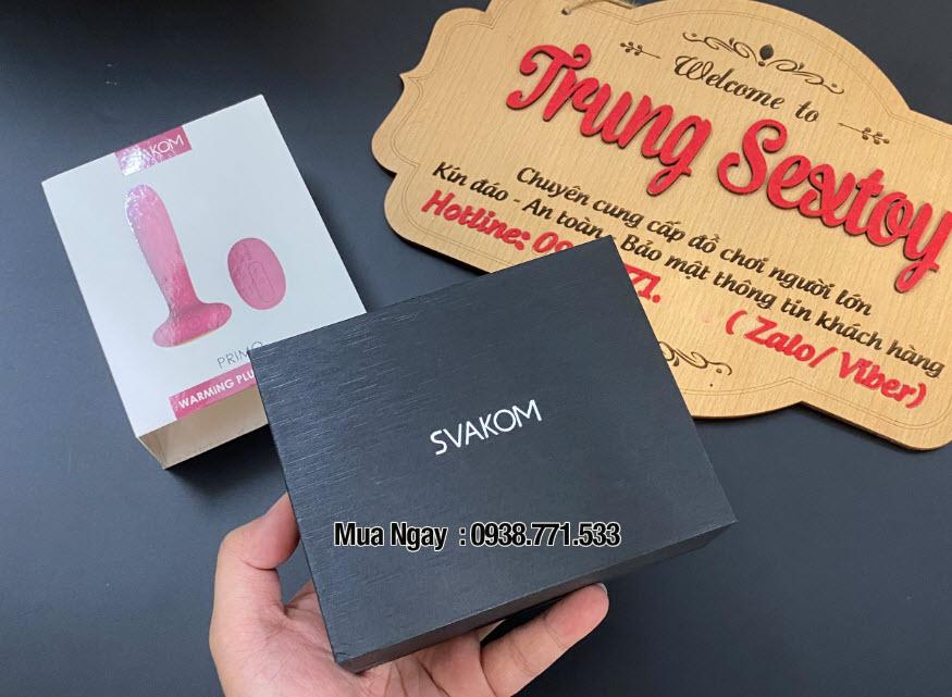 Dụng cụ kích thích hậu môn cao cấp chí hãng Svakom Primo của Mỹ