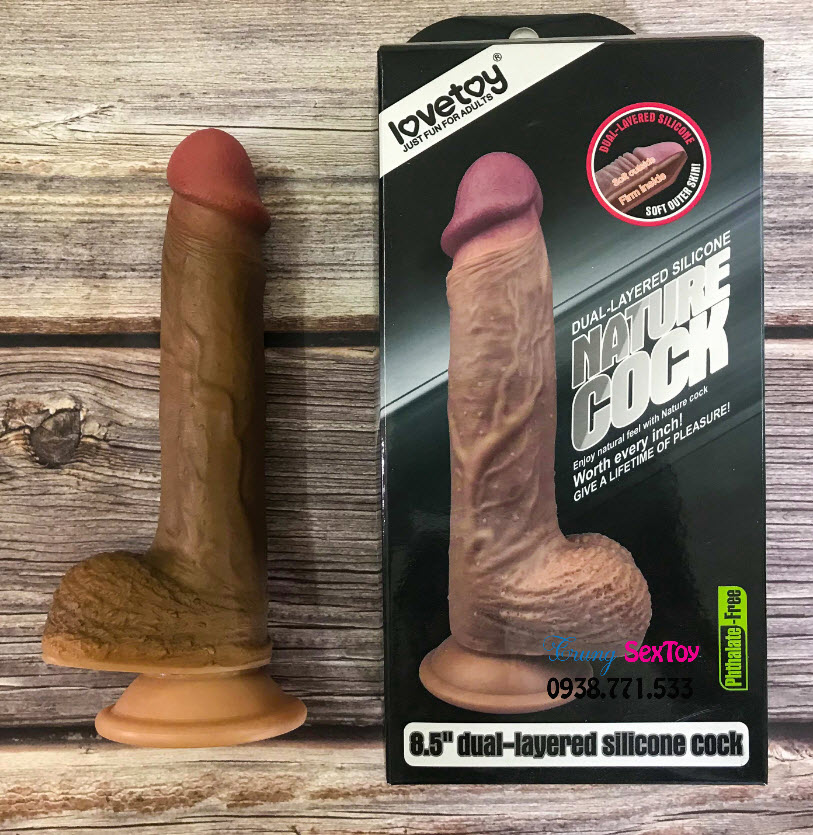 Lovetoy Silicone Nature Cock