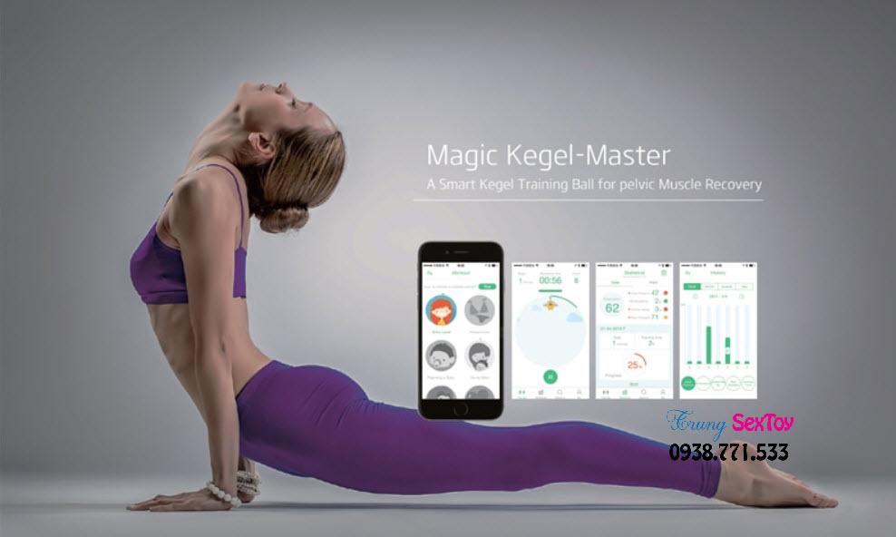 Trứng Rung Tình Yêu Magic Kegel Giúp Tập Se Khít Âm Đạo Cho Nữ