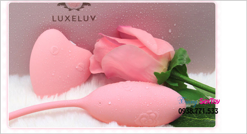 Trứng rung tình yêu không dây Luxeluv DO tuyệt tác mới nhất hiện nay