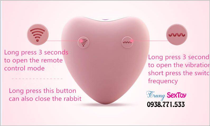 Trứng rung tình yêu cao cấp Luxeluv Rabbit 7C chú thỏ đầy quyền lực