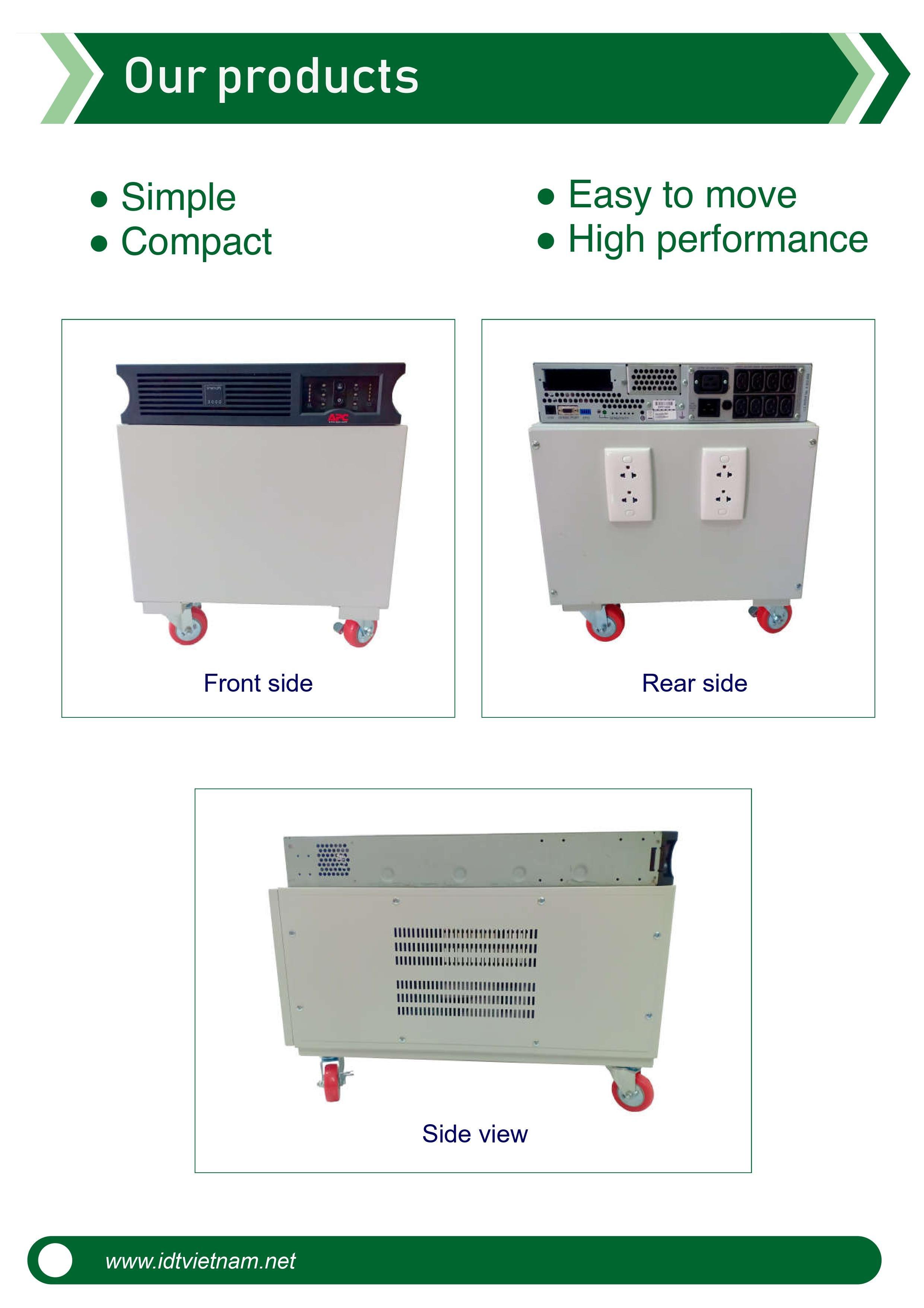 Bộ lưu điện HOME UPS IDT EZ3000 công suất 3000VA