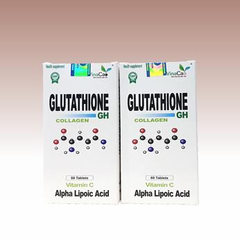 [NEW] Viên uống trắng da Glutathione Collagen GH công thức cải tiến