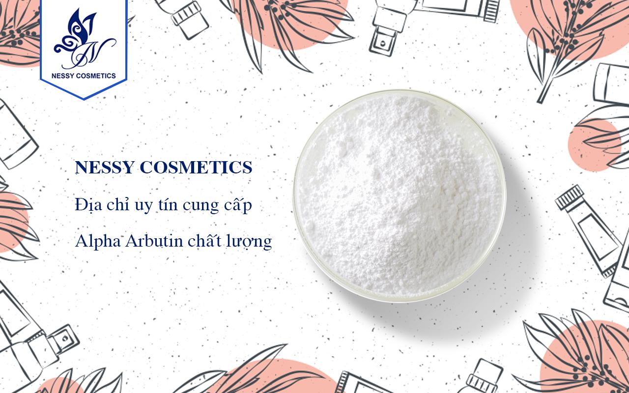 Alpha - Arbutin - chất làm trắng sáng da- cửa hàng bán nguyên liệu mỹ phẩm
