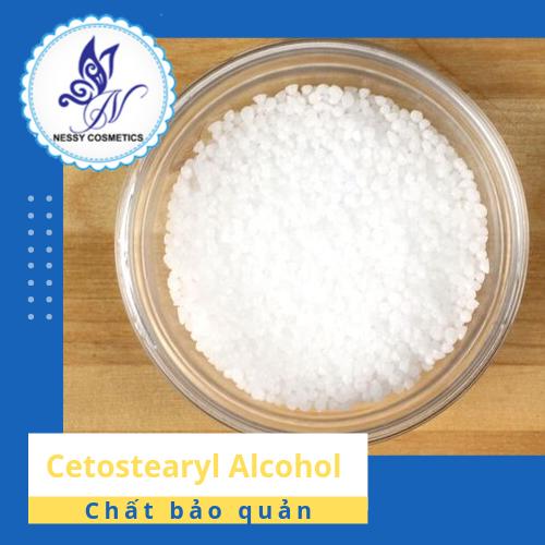 Cetostearyl Alcohol- chất làm đặc-mua nguyên liệu làm mỹ phẩm handmade
