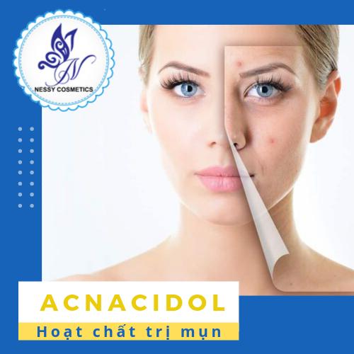 Hoạt chất trị mụn Acnacidol - Nguyên liệu mỹ phẩm