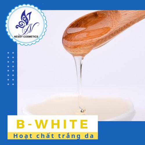 Hoạt chất trắng da- B-WHITE - nguyên liệu mỹ phẩm tphcm
