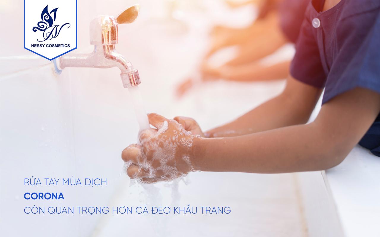 Rửa tay mùa dịch corona còn quan trọng hơn cả đeo khẩu trang