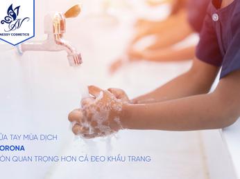 Mùa dịch Corona, nước rửa tay còn quan trọng hơn cả khẩu trang