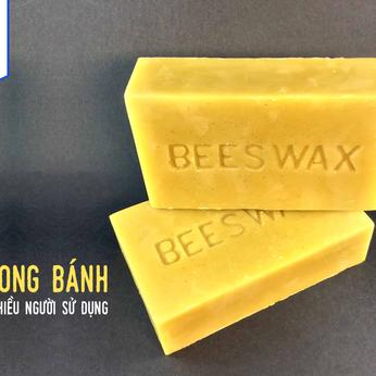 Sáp ong bánh Beeswax - Nguyên Liệu Mỹ Phẩm