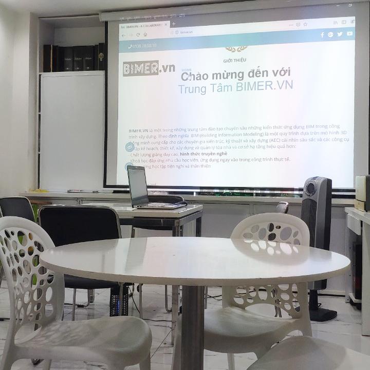 Phòng học hiện đại, thoải mái cho học viên. Có nơi thư giản, tea break
