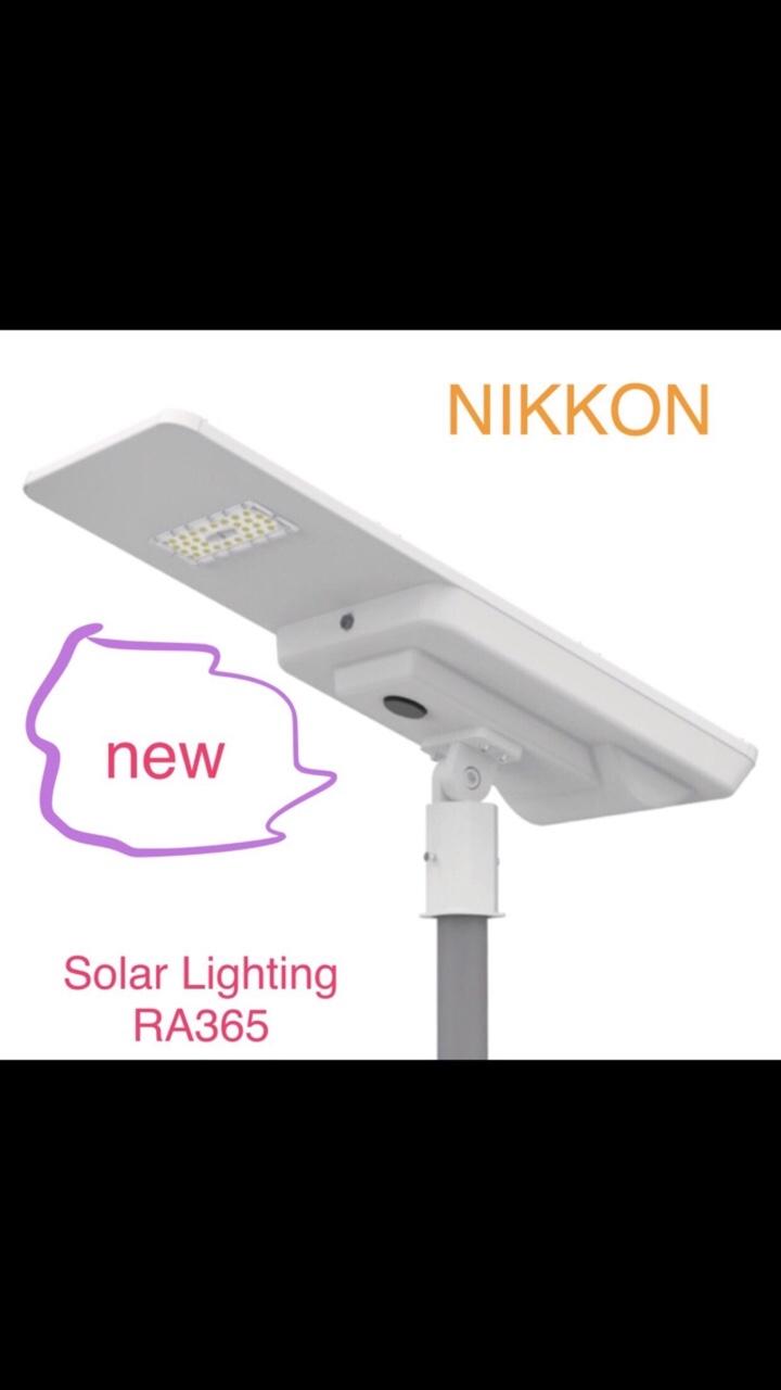 Đèn LED Nikkon Đường Phố Solar RA365