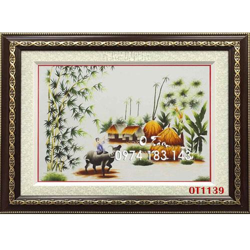Tranh Thêu Đồng Quê OT 1139