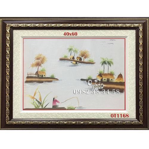 Tranh Thêu Đồng Quê OT 1168