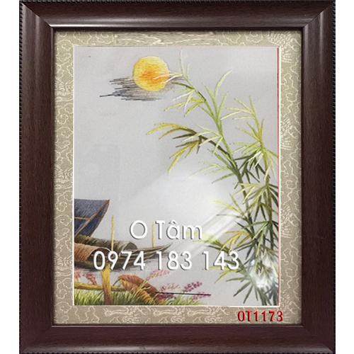 Tranh Thêu Đồng Quê OT 1173