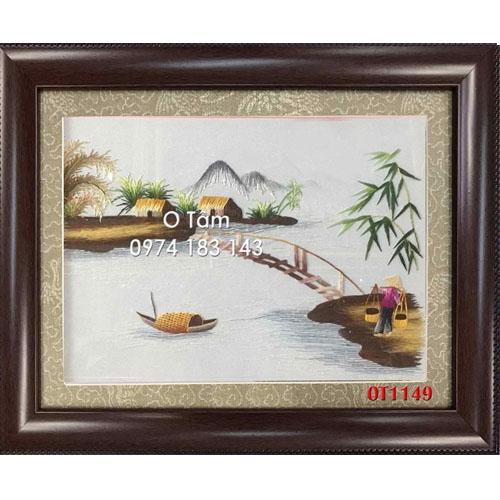Tranh Thêu Đồng Quê OT 1149