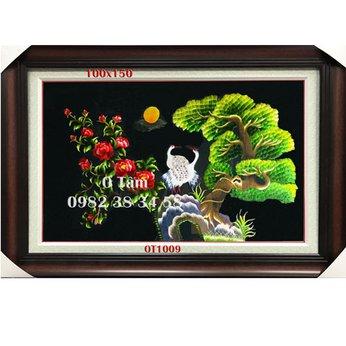 Tranh Thêu Treo Phòng Khách OT 1009