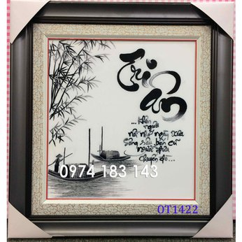 Tranh thêu tặng thầy cô OT 1422