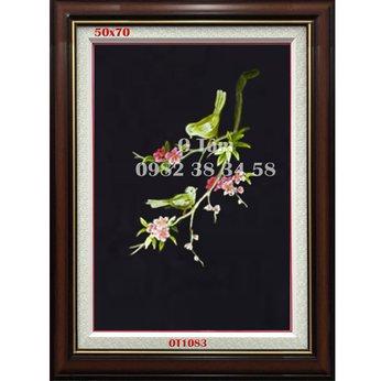 Tranh Thêu Hoa OT 1083