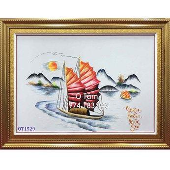 Tranh thêu thuận buồm xuôi gió OT 1529
