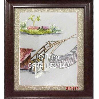 Tranh Thêu Đồng Quê OT 1171