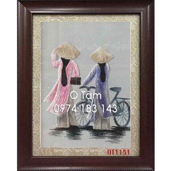 Tranh Thêu Đồng Quê OT 1151