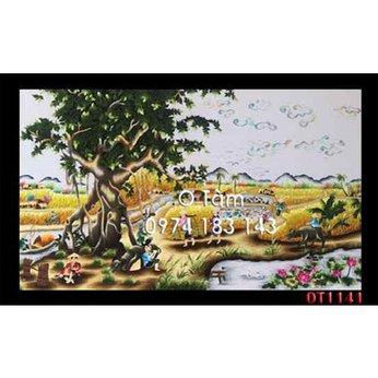 Tranh Thêu Đồng Quê OT 1141