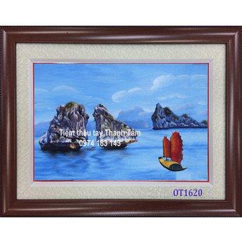 Tranh Thêu Vịnh Hạ Long OT 1620