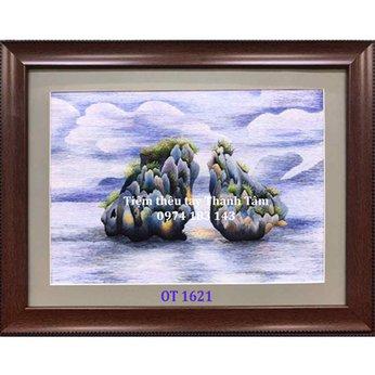 Tranh Thêu Vịnh Hạ Long OT 1621