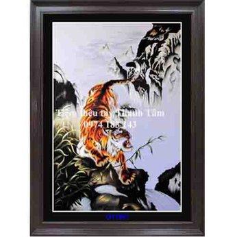 Tranh thêu con hổ OT 1857
