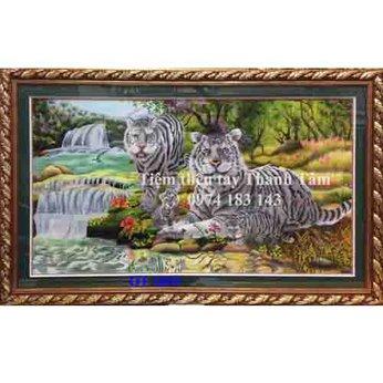 Tranh thêu con hổ OT 1859