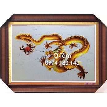 Tranh thêu con rồng OT 1350