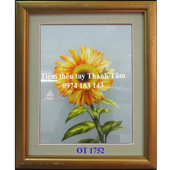 Tranh thêu hoa hướng dươngOT 1752