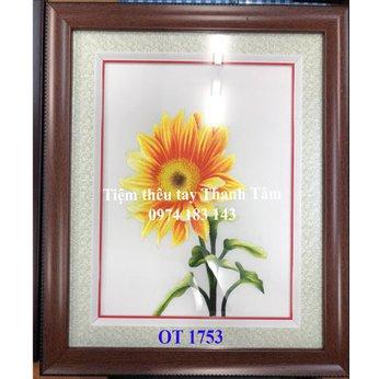 Tranh thêu hoa hướng dươngOT 1753