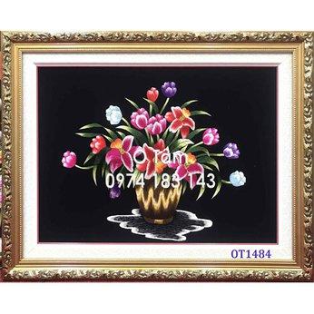 Tranh thêu hoa tulip OT 1484
