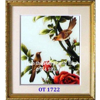 Tranh thêu tặng đám cưới OT 1722