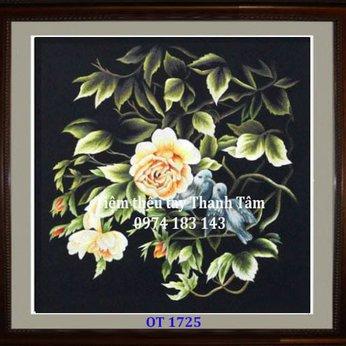 Tranh thêu tặng đám cưới OT 1725