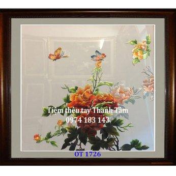Tranh thêu tặng đám cưới OT 1726