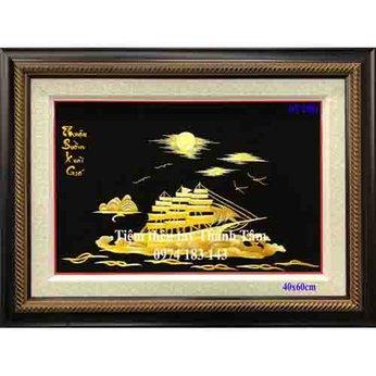 Tranh thêu thuận buồm xuôi gióOT 2001