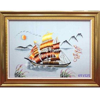 Tranh thêu thuận buồm xuôi gió OT 1525