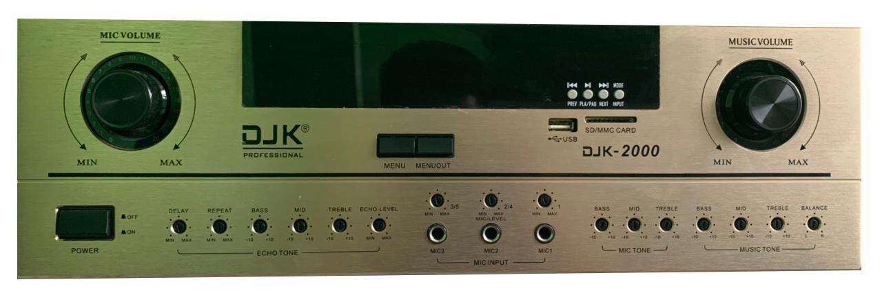 AMPLY DJK D-2000 | Chính hãng | Minhtriaudiopro.com
