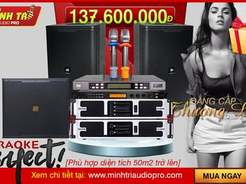 Admire the high-end karaoke system worth more than 137 million, irresistible customers