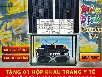 Trọn Bộ Dàn Karaoke Giá Sale Trong Mùa Dich