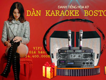 What's hot in the famous American BOSTON ACOUSTICS Karaoke System?