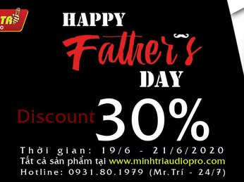 🔔🎊FATHER'S DAY - GIẢM NGAY 30%