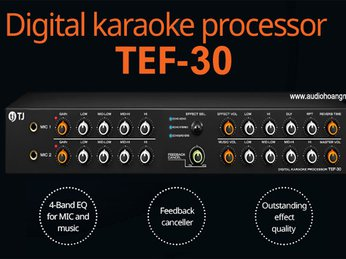 Mixer TJ TEF 30 Thương hiệu Korea