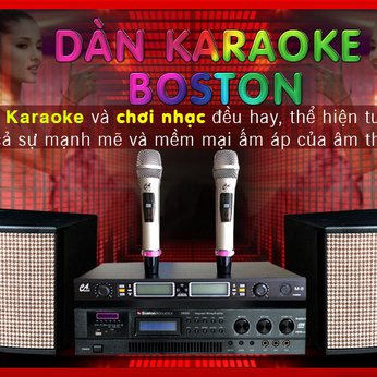 DÀN KARAOKE  BOSTON