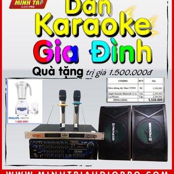 Combo #1 Dàn karaoke gia đình