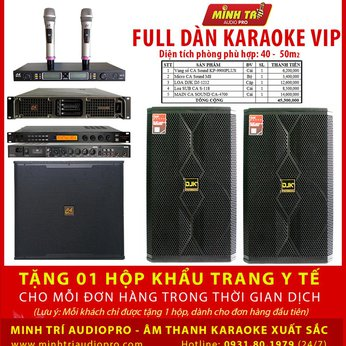 DÀN KARAOKE VIP